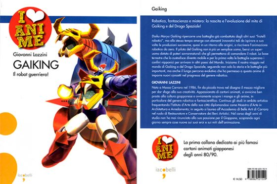 #BooksArchive 002: Gaiking, il robot guerriero