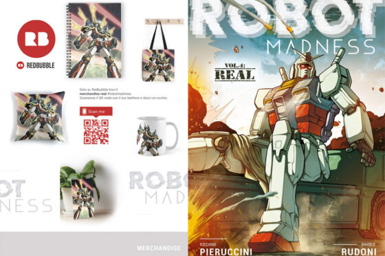 #BooksArchive 007: Robot Madness Vol.4: I Real